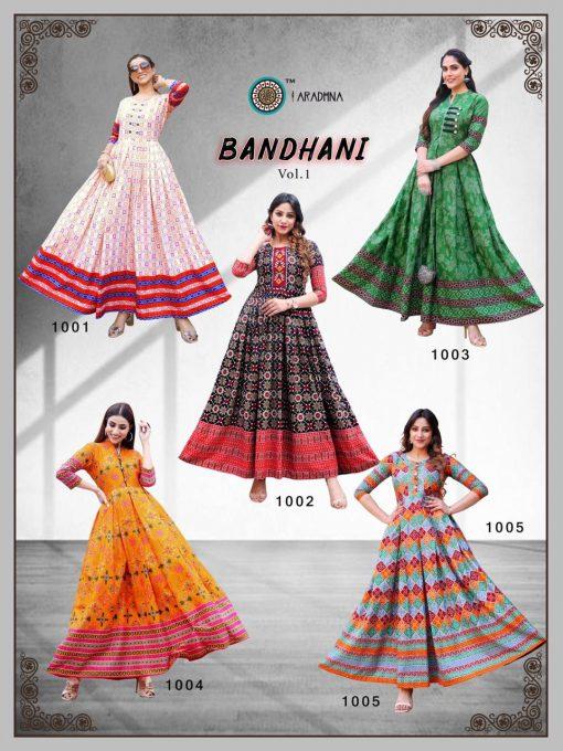 Aradhna Bandhani Vol 1 Kurti Wholesale Catalog 10 Pcs 18 510x680 - Aradhna Bandhani Vol 1 Kurti Wholesale Catalog 10 Pcs