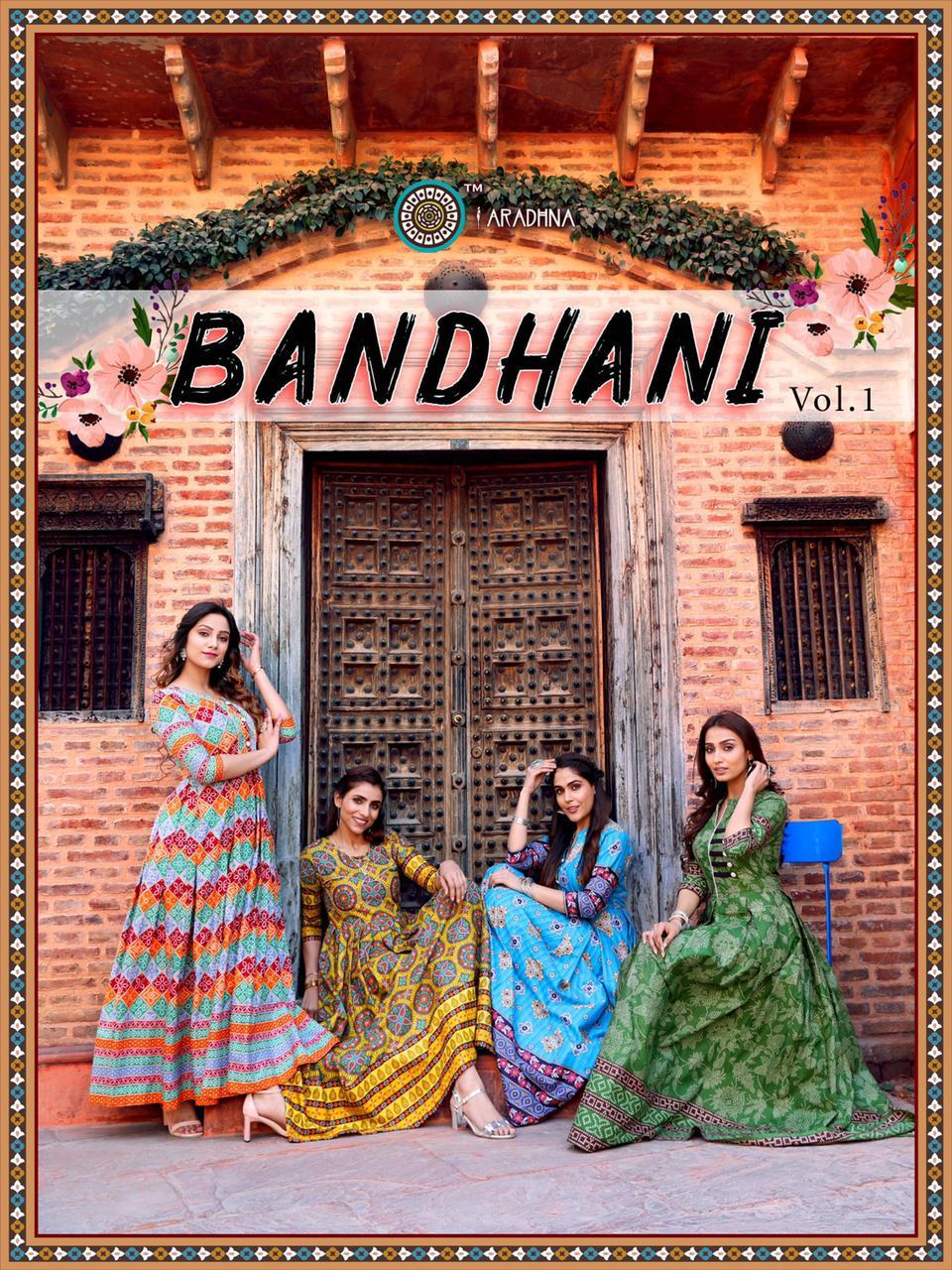 Aradhna Bandhani Vol 1 Kurti Wholesale Catalog 10 Pcs 5 - Aradhna Bandhani Vol 1 Kurti Wholesale Catalog 10 Pcs