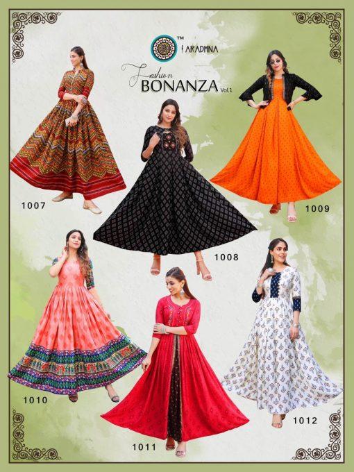Aradhna Fashion Bonanza Vol 1 Kurti Wholesale Catalog 12 Pcs 20 510x680 - Aradhna Fashion Bonanza Vol 1 Kurti Wholesale Catalog 12 Pcs