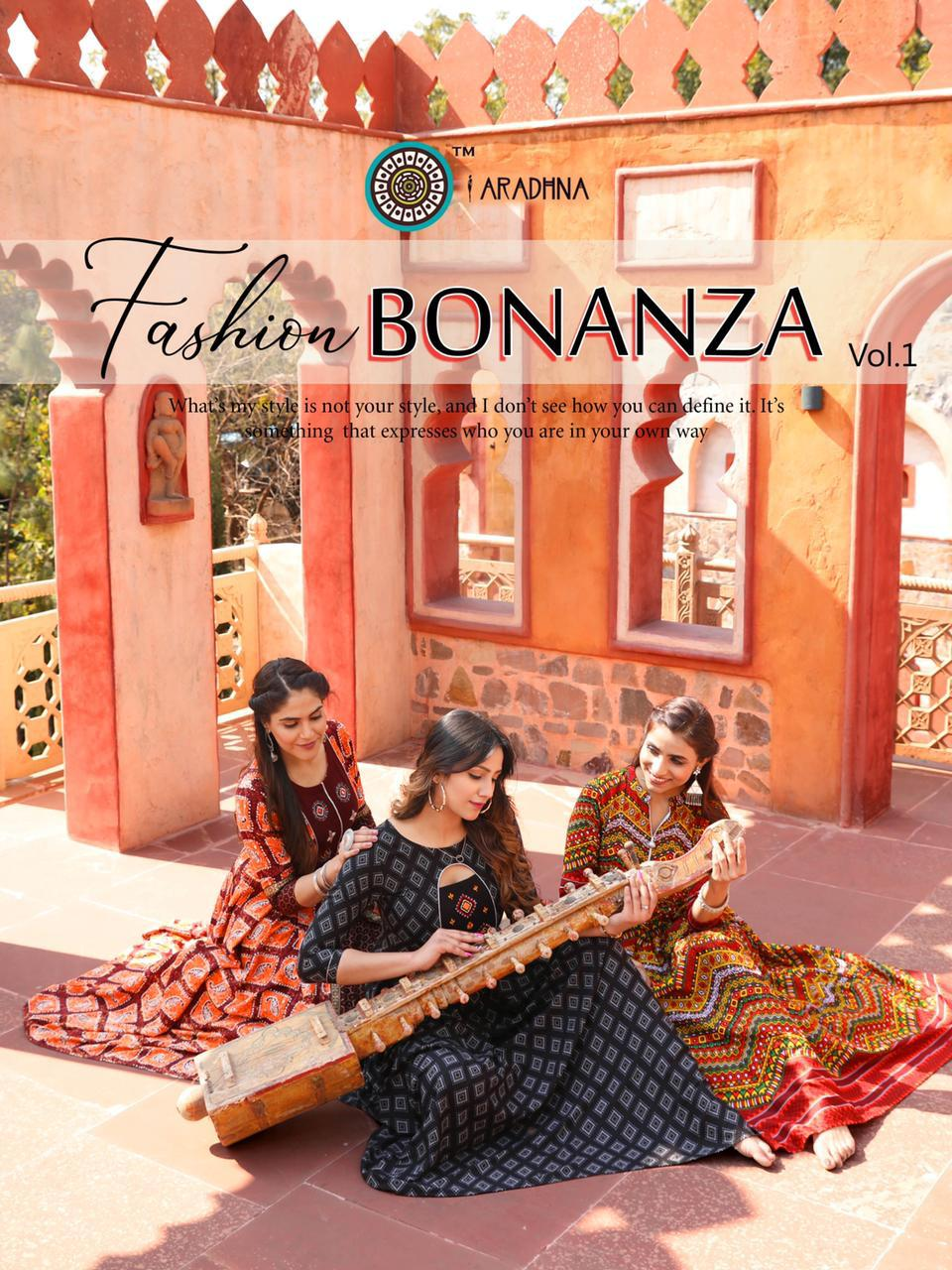 Aradhna Fashion Bonanza Vol 1 Kurti Wholesale Catalog 12 Pcs 3 - Aradhna Fashion Bonanza Vol 1 Kurti Wholesale Catalog 12 Pcs