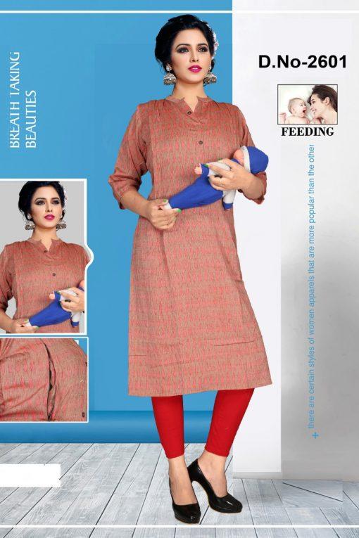 Avashya Inkline Feeding Kurtis Vol 6 Wholesale Catalog 6 Pcs 4 510x765 - Avashya Inkline Feeding Kurtis Vol 6 Wholesale Catalog 6 Pcs
