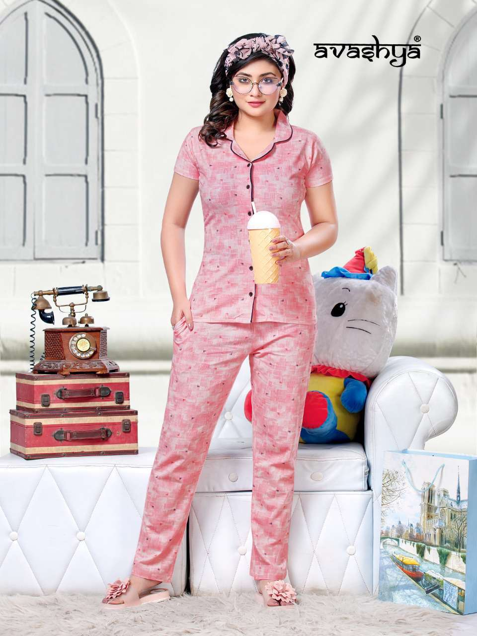Avashya Premium Night Wear Vol 6 Wholesale Catalog 6 Pcs 6 - Avashya Premium Night Wear Vol 6 Wholesale Catalog 6 Pcs