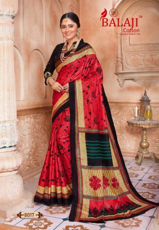 Balaji Cotton Leelavathi Vol 8 A Saree Sari Wholesale Catalog 15 Pcs 10 510x738 - Balaji Cotton Leelavathi Vol 8 A Saree Sari Wholesale Catalog 15 Pcs