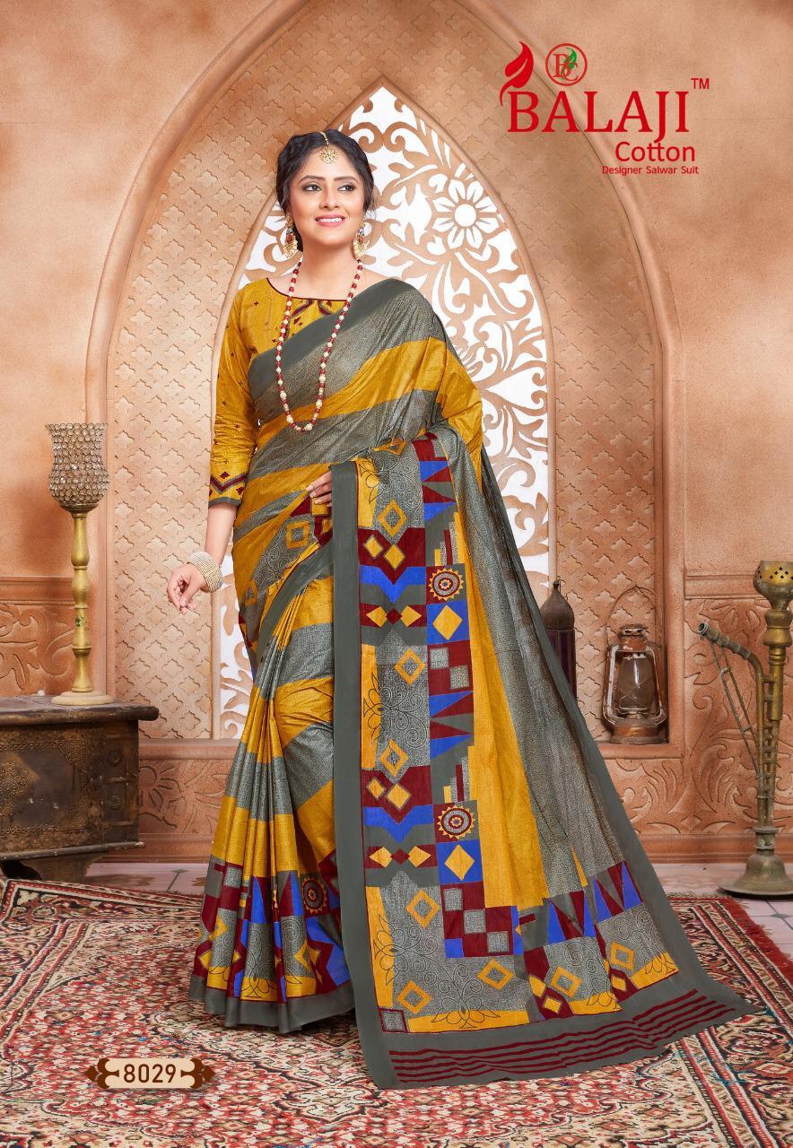 Balaji Cotton Leelavathi Vol 8 A Saree Sari Wholesale Catalog 15 Pcs 16 - Balaji Cotton Leelavathi Vol 8 A Saree Sari Wholesale Catalog 15 Pcs