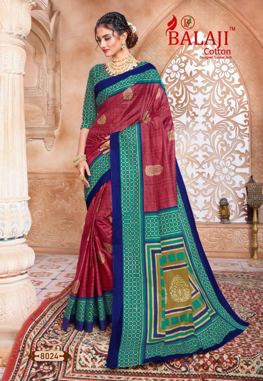 Balaji Cotton Leelavathi Vol 8 B Saree Sari Wholesale Catalog 15 Pcs 14 - Balaji Cotton Leelavathi Vol 8 B Saree Sari Wholesale Catalog 15 Pcs