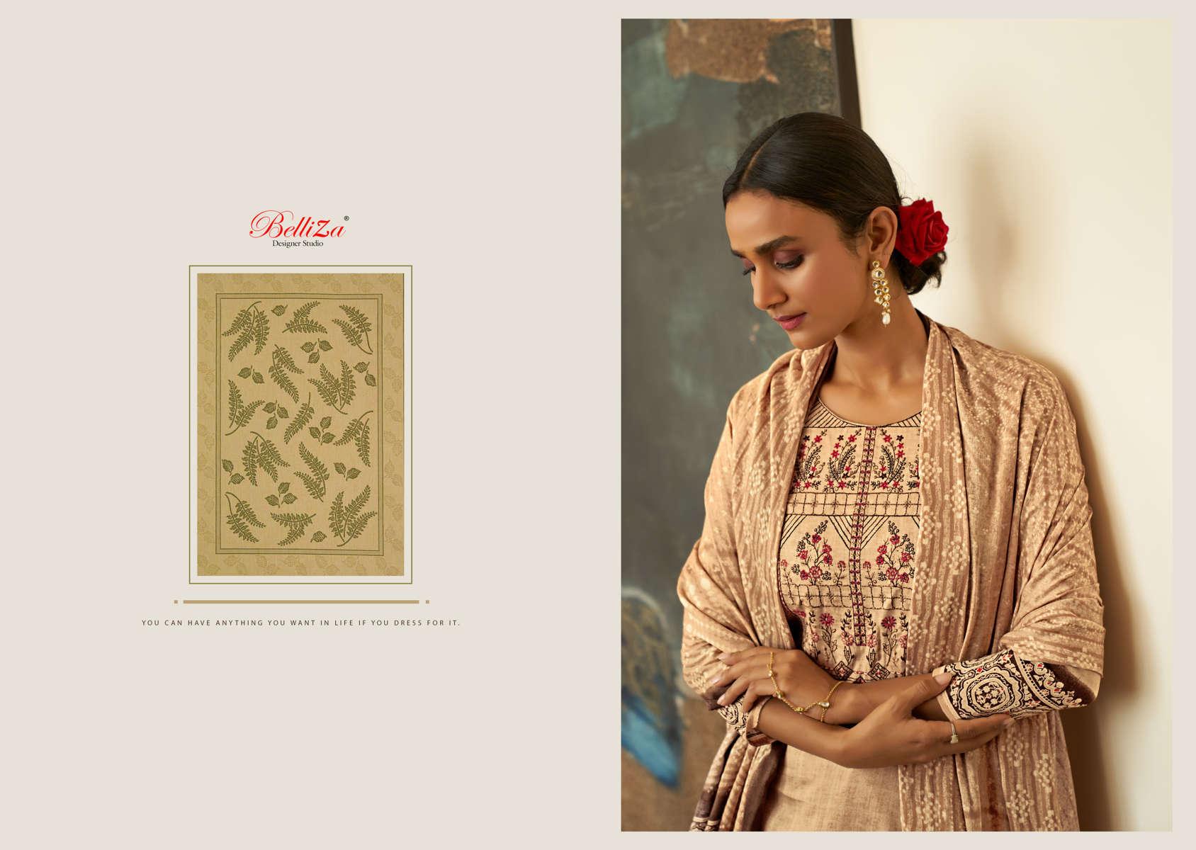 Belliza Haseen Salwar Suit Wholesale Catalog 6 Pcs 1 - Belliza Haseen Salwar Suit Wholesale Catalog 6 Pcs