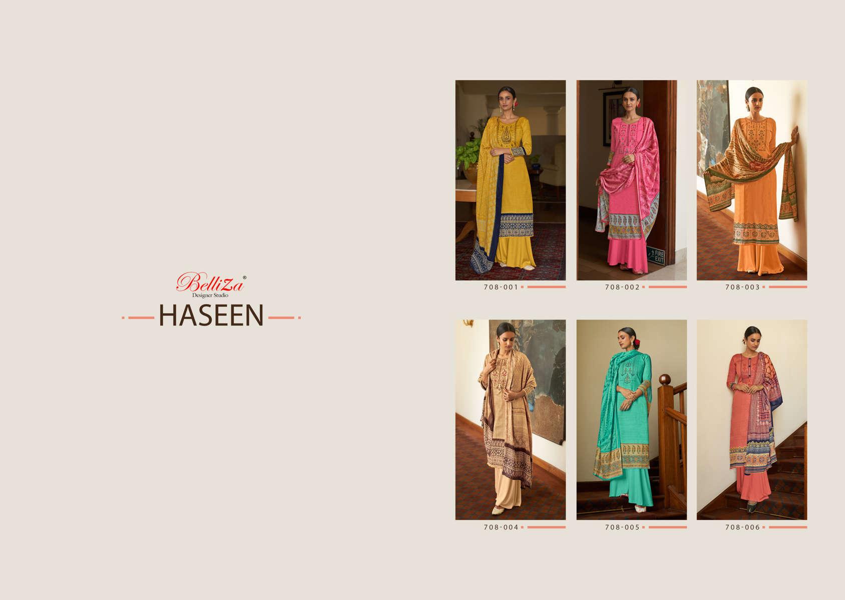 Belliza Haseen Salwar Suit Wholesale Catalog 6 Pcs 9 - Belliza Haseen Salwar Suit Wholesale Catalog 6 Pcs