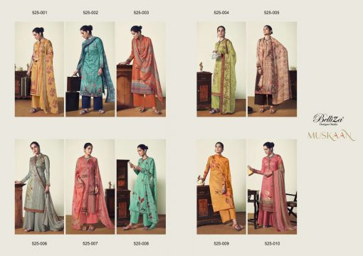 Belliza Muskaan Salwar Suit Wholesale Catalog 10 Pcs 13 510x360 - Belliza Muskaan Salwar Suit Wholesale Catalog 10 Pcs