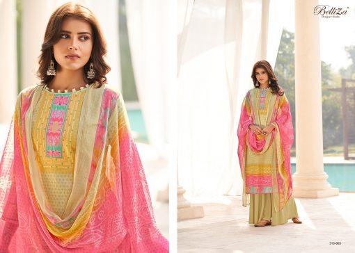 Belliza Riwaaz Salwar Suit Wholesale Catalog 10 Pcs 5 510x364 - Belliza Riwaaz Salwar Suit Wholesale Catalog 10 Pcs