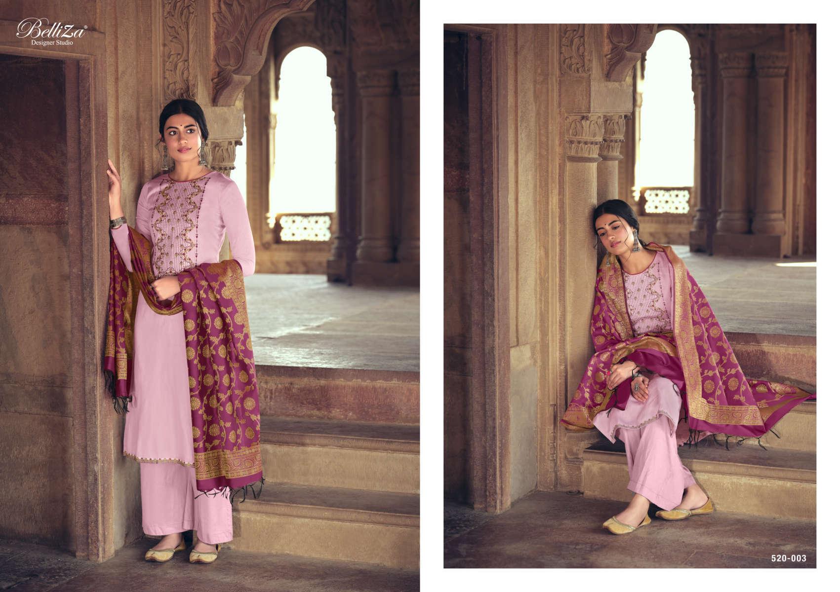 Belliza Shamia Salwar Suit Wholesale Catalog 8 Pcs 3 - Belliza Shamia Salwar Suit Wholesale Catalog 8 Pcs