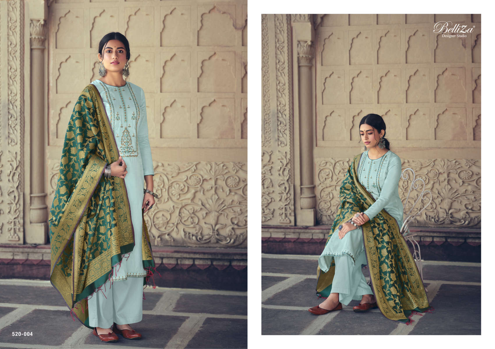 Belliza Shamia Salwar Suit Wholesale Catalog 8 Pcs 4 - Belliza Shamia Salwar Suit Wholesale Catalog 8 Pcs
