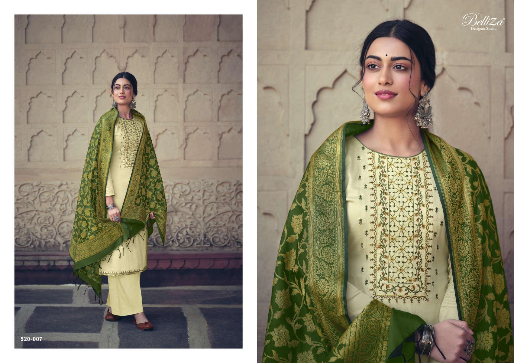 Belliza Shamia Salwar Suit Wholesale Catalog 8 Pcs 8 - Belliza Shamia Salwar Suit Wholesale Catalog 8 Pcs