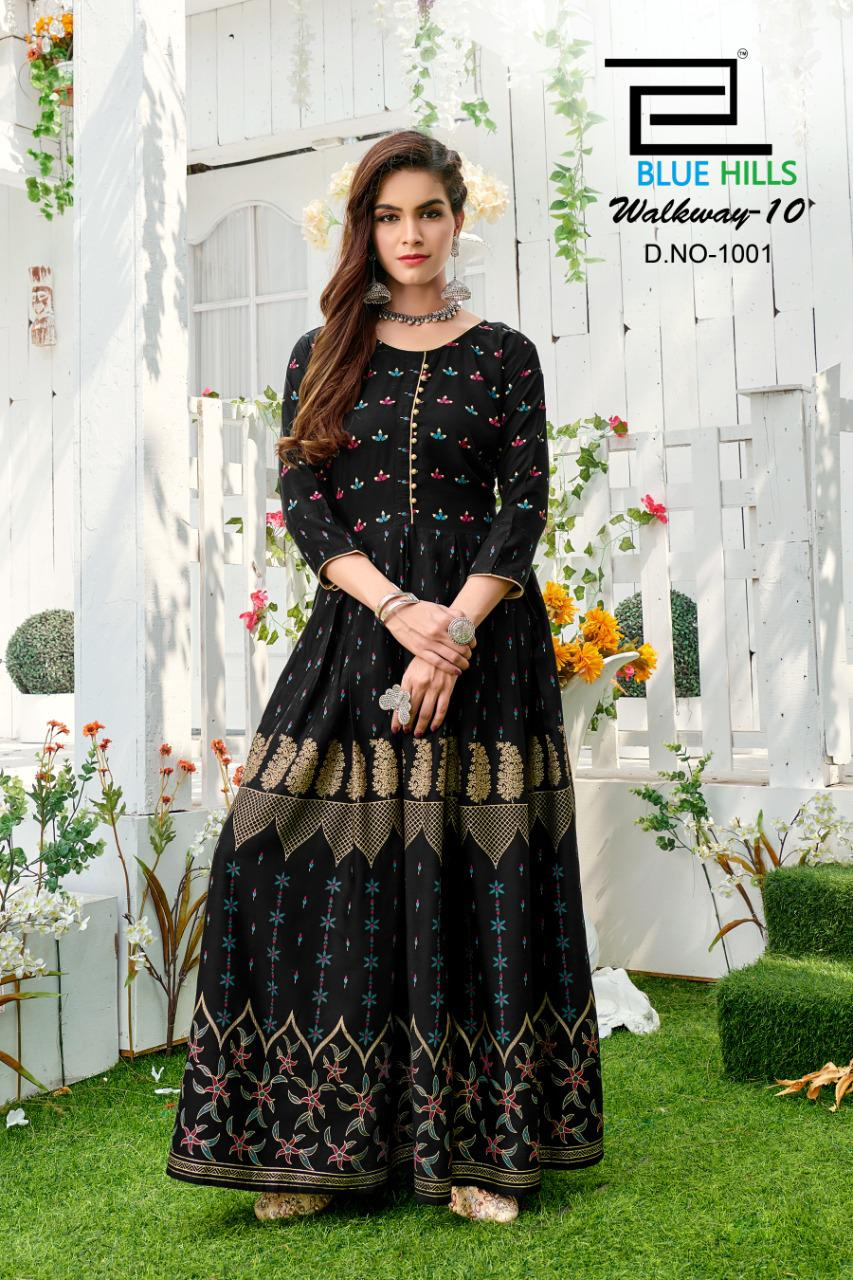 Blue Hills Walkway Vol 10 NX Kurti Wholesale Catalog 4 Pcs 4 - Blue Hills Walkway Vol 10 NX Kurti Wholesale Catalog 4 Pcs
