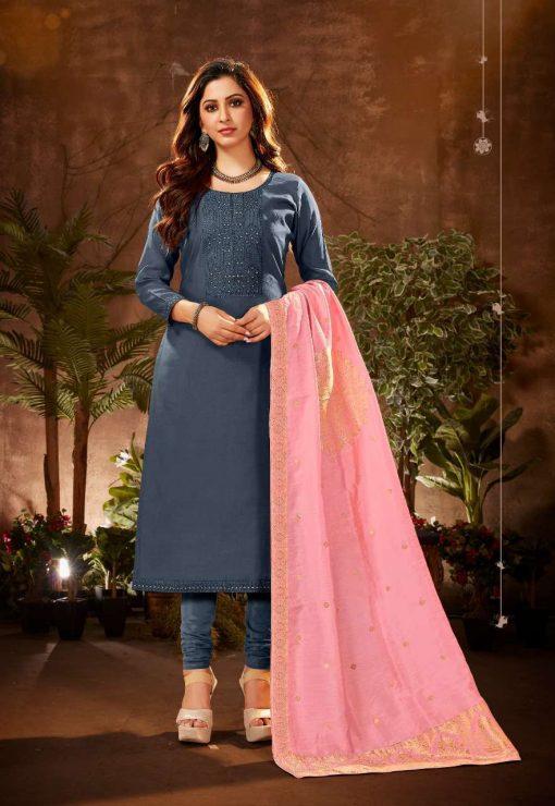 Brij Serene Salwar Suit Wholesale Catalog 8 Pcs 11 510x740 - Brij Serene Salwar Suit Wholesale Catalog 8 Pcs