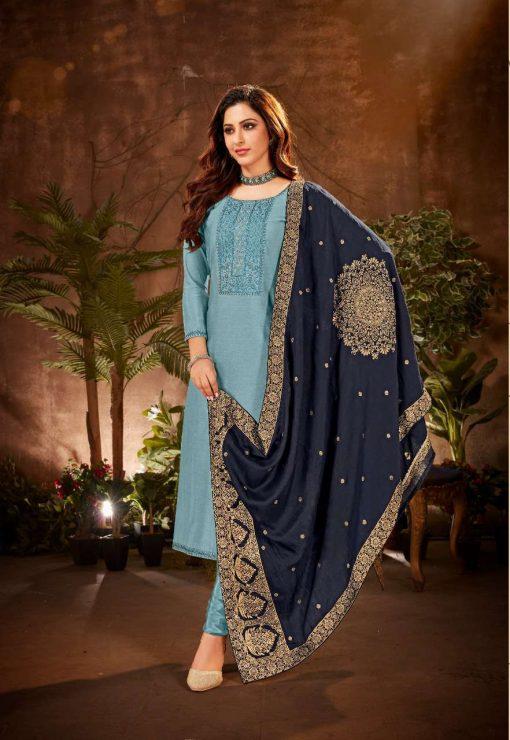 Brij Serene Salwar Suit Wholesale Catalog 8 Pcs 16 510x740 - Brij Serene Salwar Suit Wholesale Catalog 8 Pcs