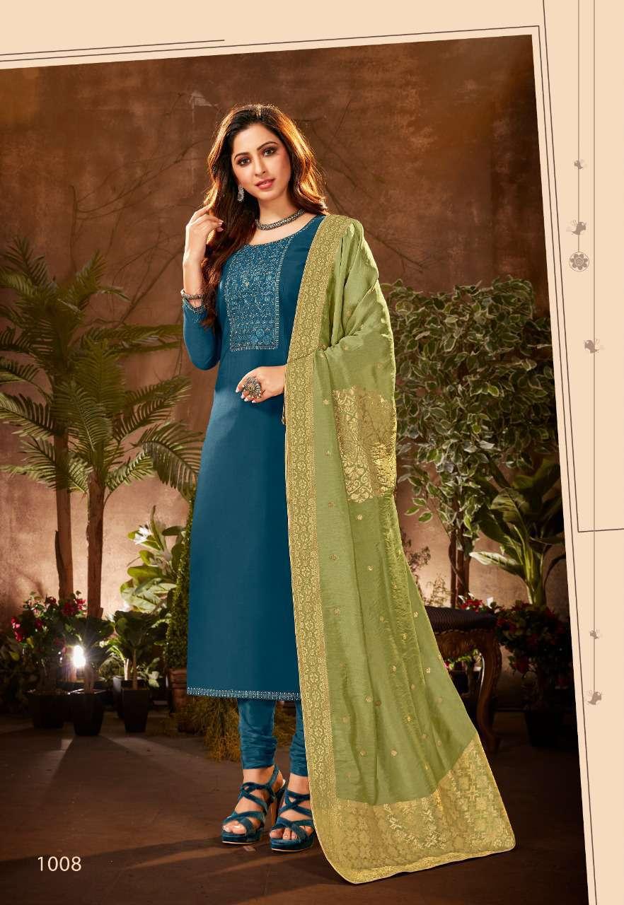 Brij Serene Salwar Suit Wholesale Catalog 8 Pcs 18 - Brij Serene Salwar Suit Wholesale Catalog 8 Pcs