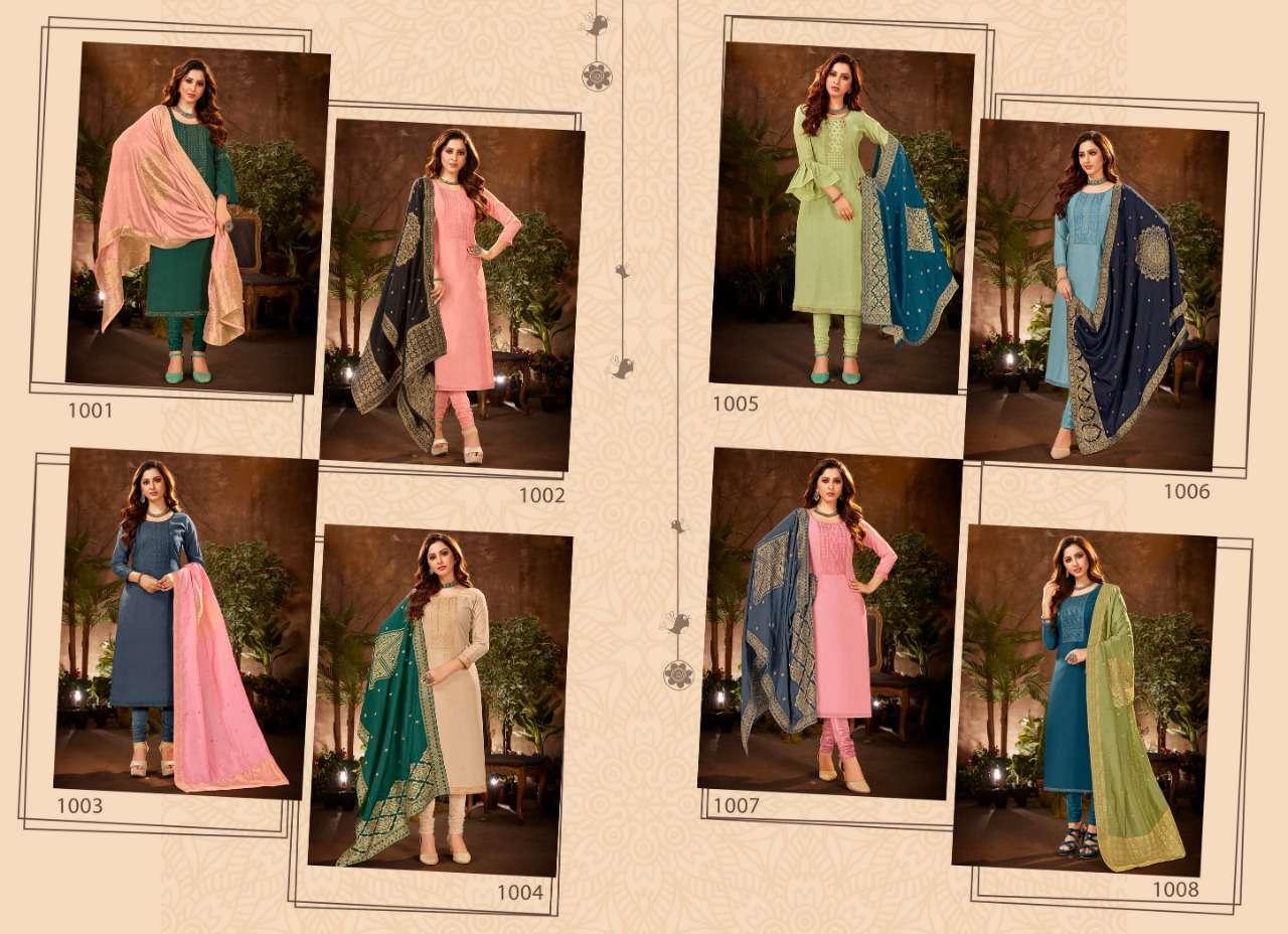 Brij Serene Salwar Suit Wholesale Catalog 8 Pcs 19 - Brij Serene Salwar Suit Wholesale Catalog 8 Pcs