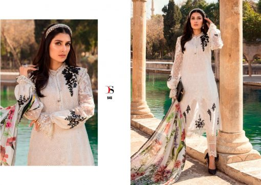 Deepsy Maria B Lawn 21 Salwar Suit Wholesale Catalog 8 Pcs 16 510x362 - Deepsy Maria B Lawn 21 Salwar Suit Wholesale Catalog 8 Pcs