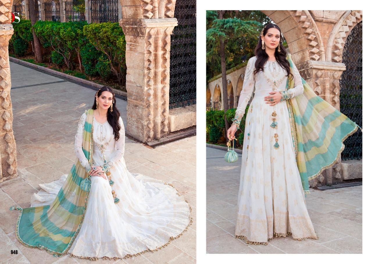 Deepsy Maria B Lawn 21 Salwar Suit Wholesale Catalog 8 Pcs 20 - Deepsy Maria B Lawn 21 Salwar Suit Wholesale Catalog 8 Pcs