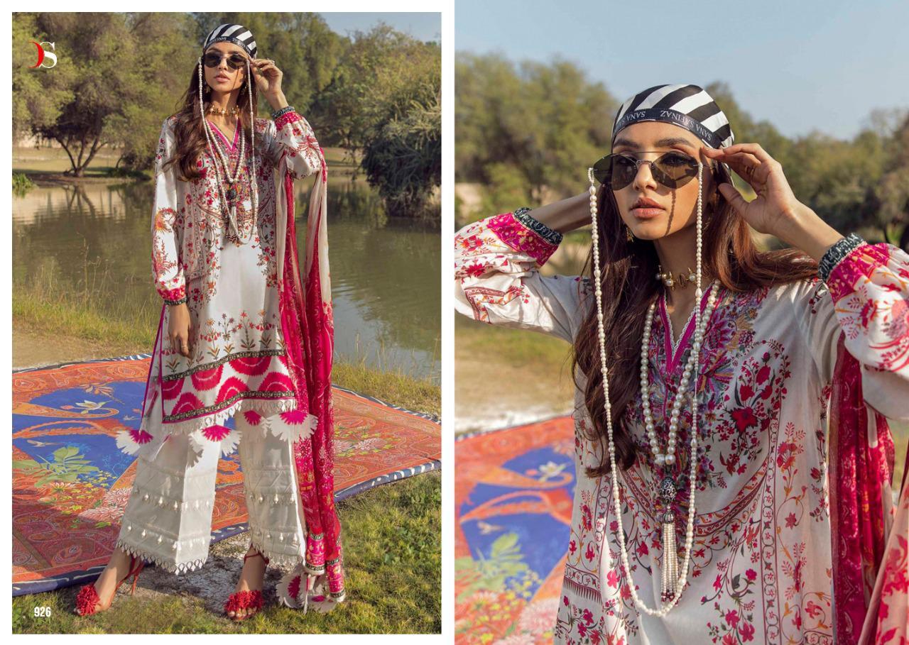 Deepsy Sana Safinaz Muzlin Salwar Suit Wholesale Catalog 8 Pcs 4 - Deepsy Sana Safinaz Muzlin Salwar Suit Wholesale Catalog 8 Pcs