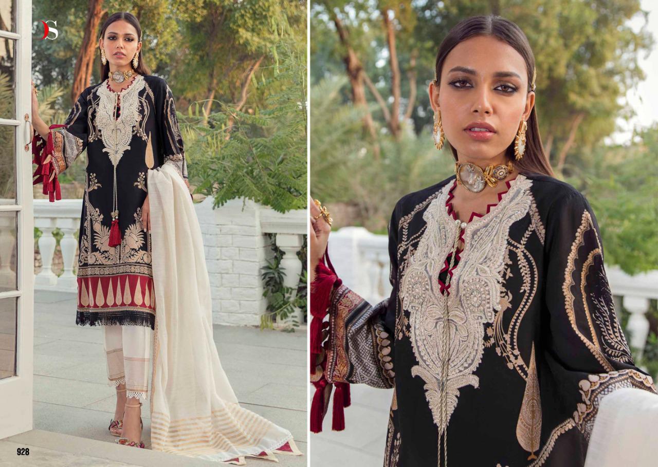Deepsy Sana Safinaz Muzlin Salwar Suit Wholesale Catalog 8 Pcs 5 - Deepsy Sana Safinaz Muzlin Salwar Suit Wholesale Catalog 8 Pcs