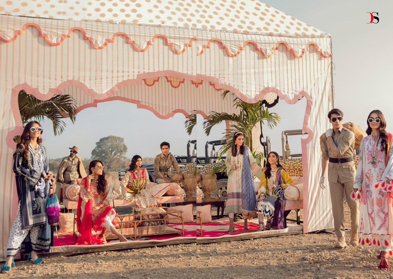 Deepsy Sana Safinaz Muzlin Salwar Suit Wholesale Catalog 8 Pcs 7 - Deepsy Sana Safinaz Muzlin Salwar Suit Wholesale Catalog 8 Pcs
