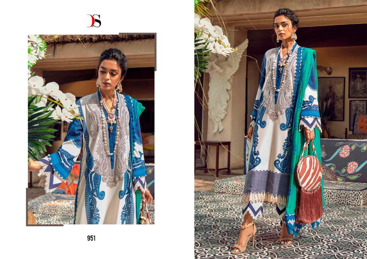 Deepsy Sana Safinaz Muzlin Vol 2 Salwar Suit Wholesale Catalog 8 Pcs 7 - Deepsy Sana Safinaz Muzlin Vol 2 Salwar Suit Wholesale Catalog 8 Pcs