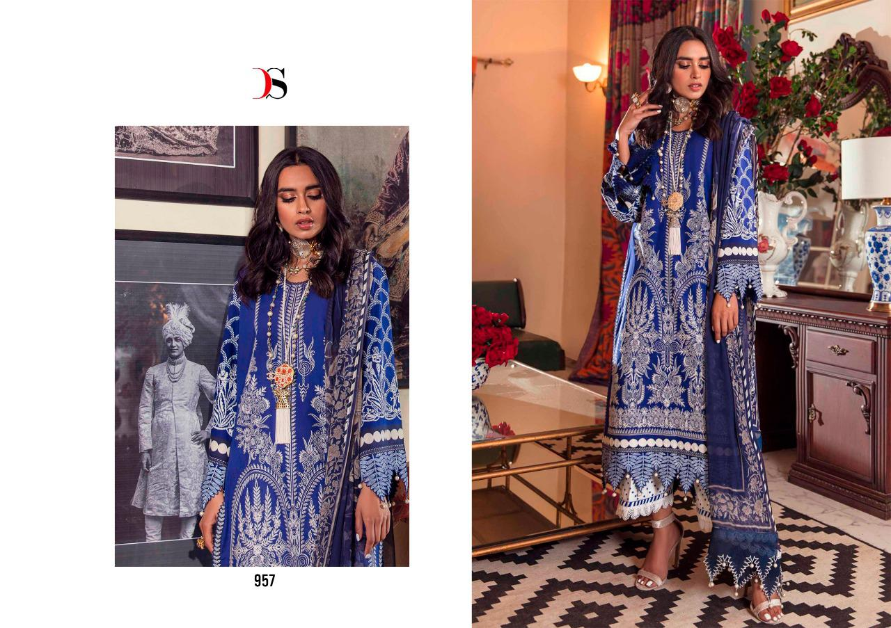 Deepsy Sana Safinaz Muzlin Vol 2 Salwar Suit Wholesale Catalog 8 Pcs 9 - Deepsy Sana Safinaz Muzlin Vol 2 Salwar Suit Wholesale Catalog 8 Pcs