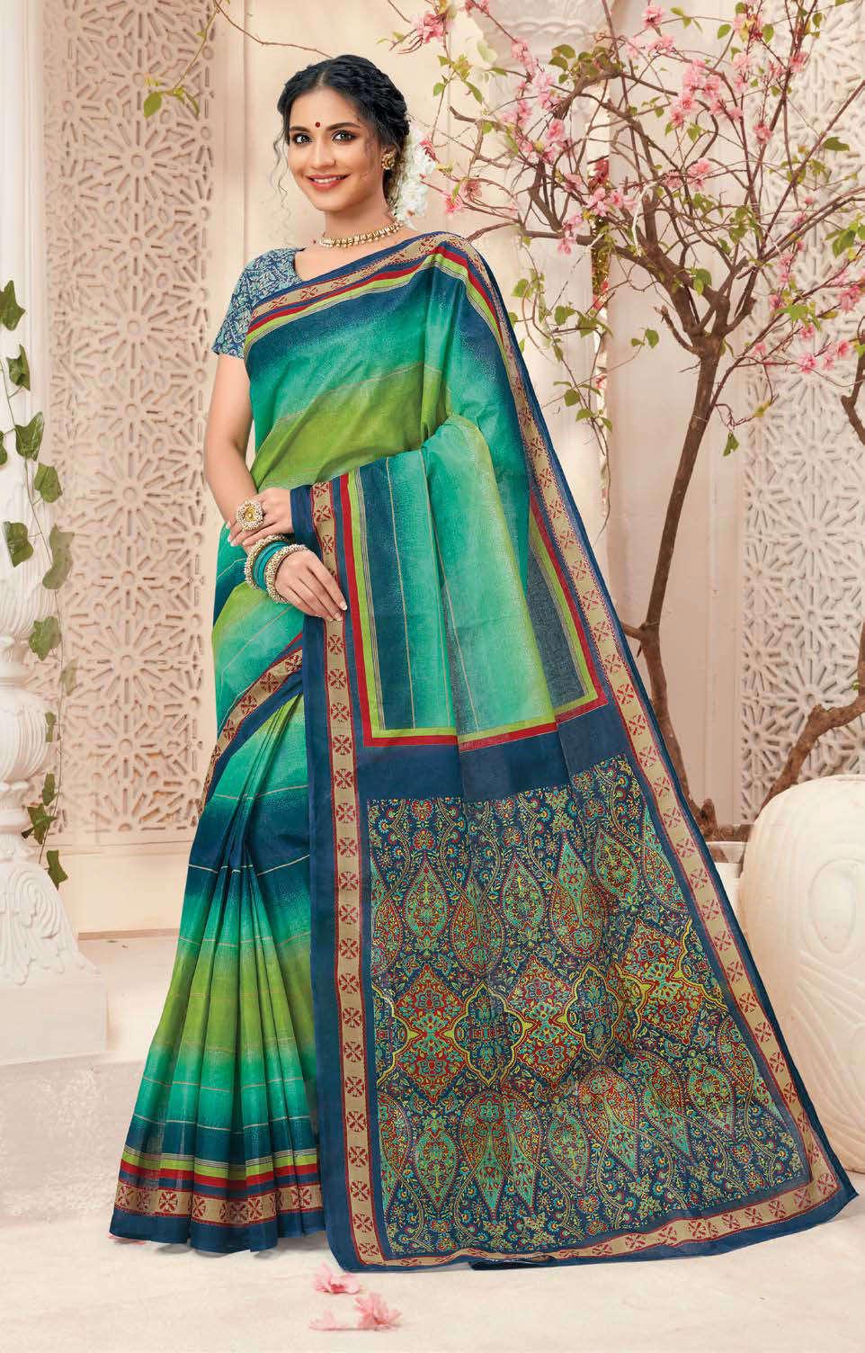 Deeptex Mother India Vol 38 A Saree Sari Wholesale Catalog 18 Pcs 1 - Deeptex Mother India Vol 38 A Saree Sari Wholesale Catalog 18 Pcs