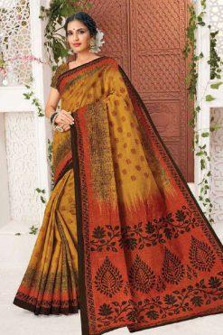 Deeptex Mother India Vol 38 A Saree Sari Wholesale Catalog 18 Pcs