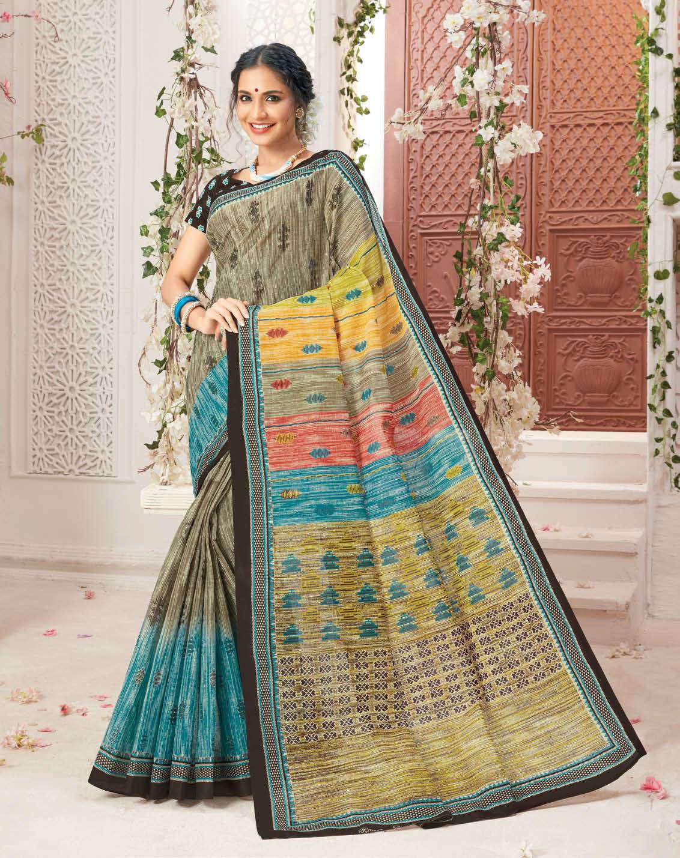 Deeptex Mother India Vol 38 B Saree Sari Wholesale Catalog 18 Pcs 10 - Deeptex Mother India Vol 38 B Saree Sari Wholesale Catalog 18 Pcs