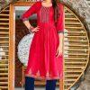 Diya Trends Summer Beauty Vol 1 by Kajal Style Kurti Wholesale Catalog 6 Pcs