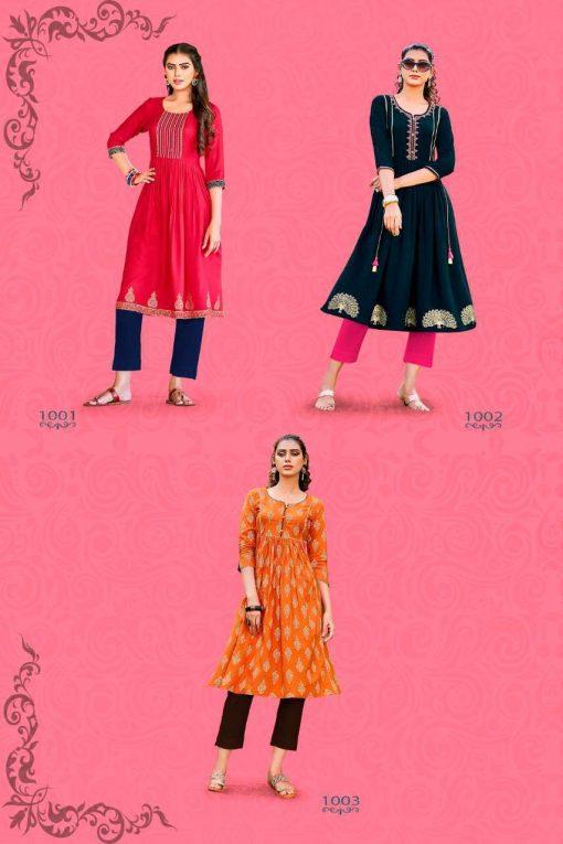 Diya Trends Summer Beauty Vol 1 by Kajal Style Kurti Wholesale Catalog 6 Pcs 7 510x765 - Diya Trends Summer Beauty Vol 1 by Kajal Style Kurti Wholesale Catalog 6 Pcs