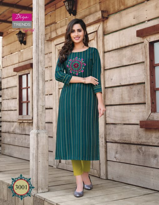 Diya Trends Victoria Vol 3 by Kajal Style Kurti Wholesale Catalog 12 Pcs 2 510x656 - Diya Trends Victoria Vol 3 by Kajal Style Kurti Wholesale Catalog 12 Pcs