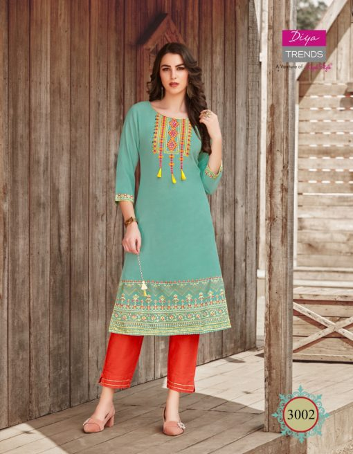Diya Trends Victoria Vol 3 by Kajal Style Kurti Wholesale Catalog 12 Pcs 3 510x656 - Diya Trends Victoria Vol 3 by Kajal Style Kurti Wholesale Catalog 12 Pcs
