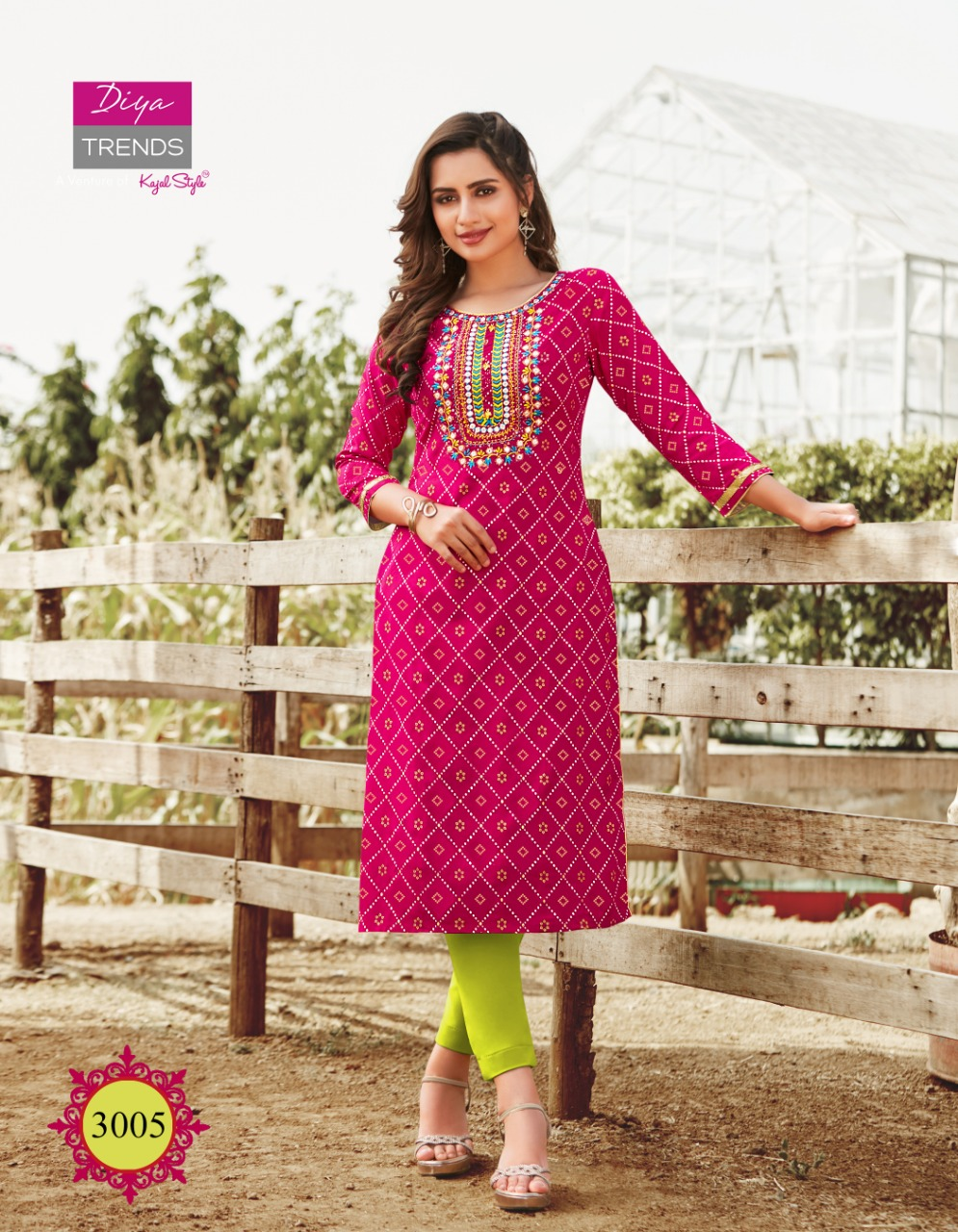 Diya Trends Victoria Vol 3 by Kajal Style Kurti Wholesale Catalog 12 Pcs 5 - Diya Trends Victoria Vol 3 by Kajal Style Kurti Wholesale Catalog 12 Pcs