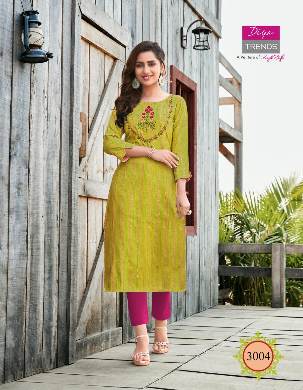 Diya Trends Victoria Vol 3 by Kajal Style Kurti Wholesale Catalog 12 Pcs 6 - Diya Trends Victoria Vol 3 by Kajal Style Kurti Wholesale Catalog 12 Pcs