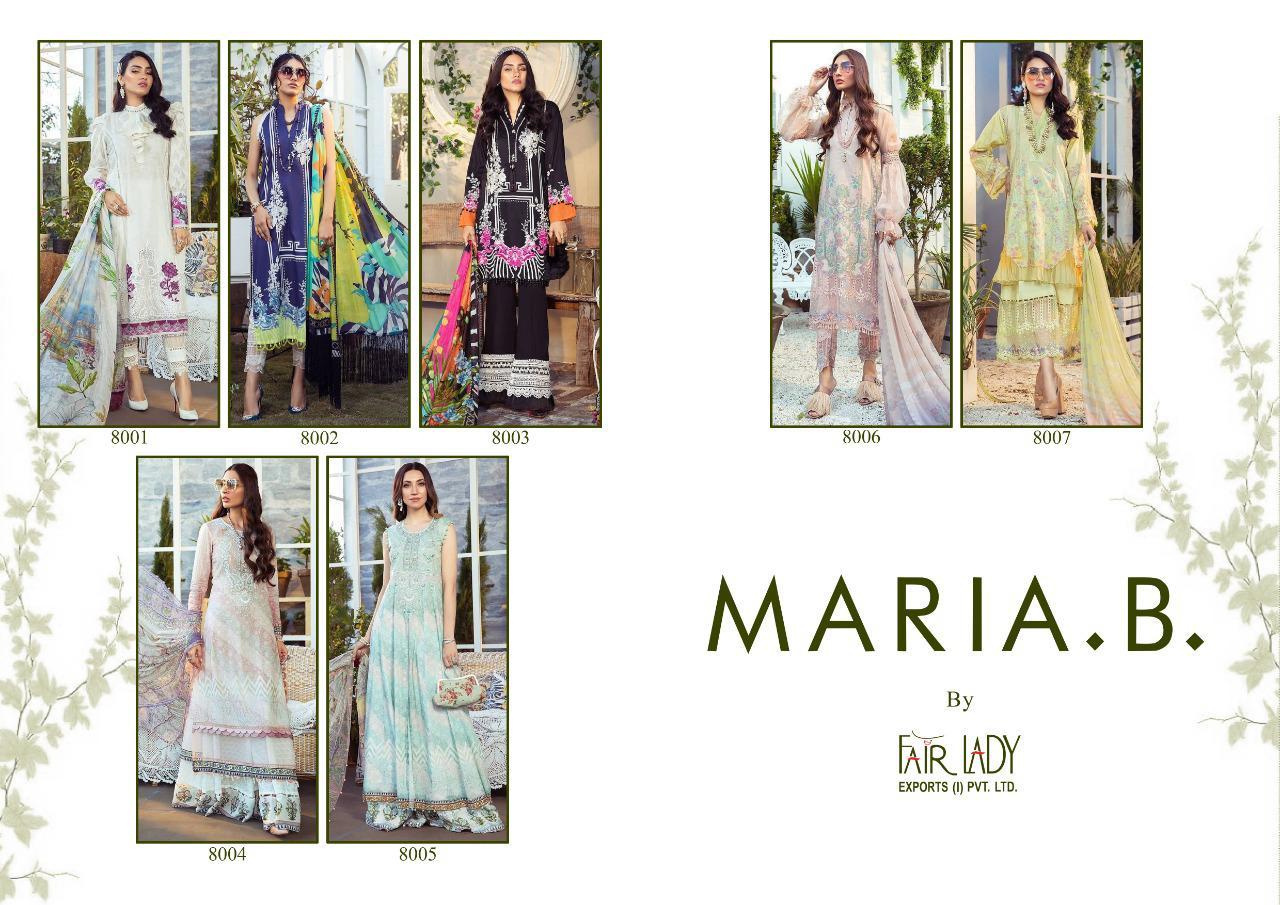 Fair Lady Maria B M Prints by Mumtaz Arts Salwar Suit Wholesale Catalog 7 Pcs 8 - Fair Lady Maria B M Prints by Mumtaz Arts Salwar Suit Wholesale Catalog 7 Pcs