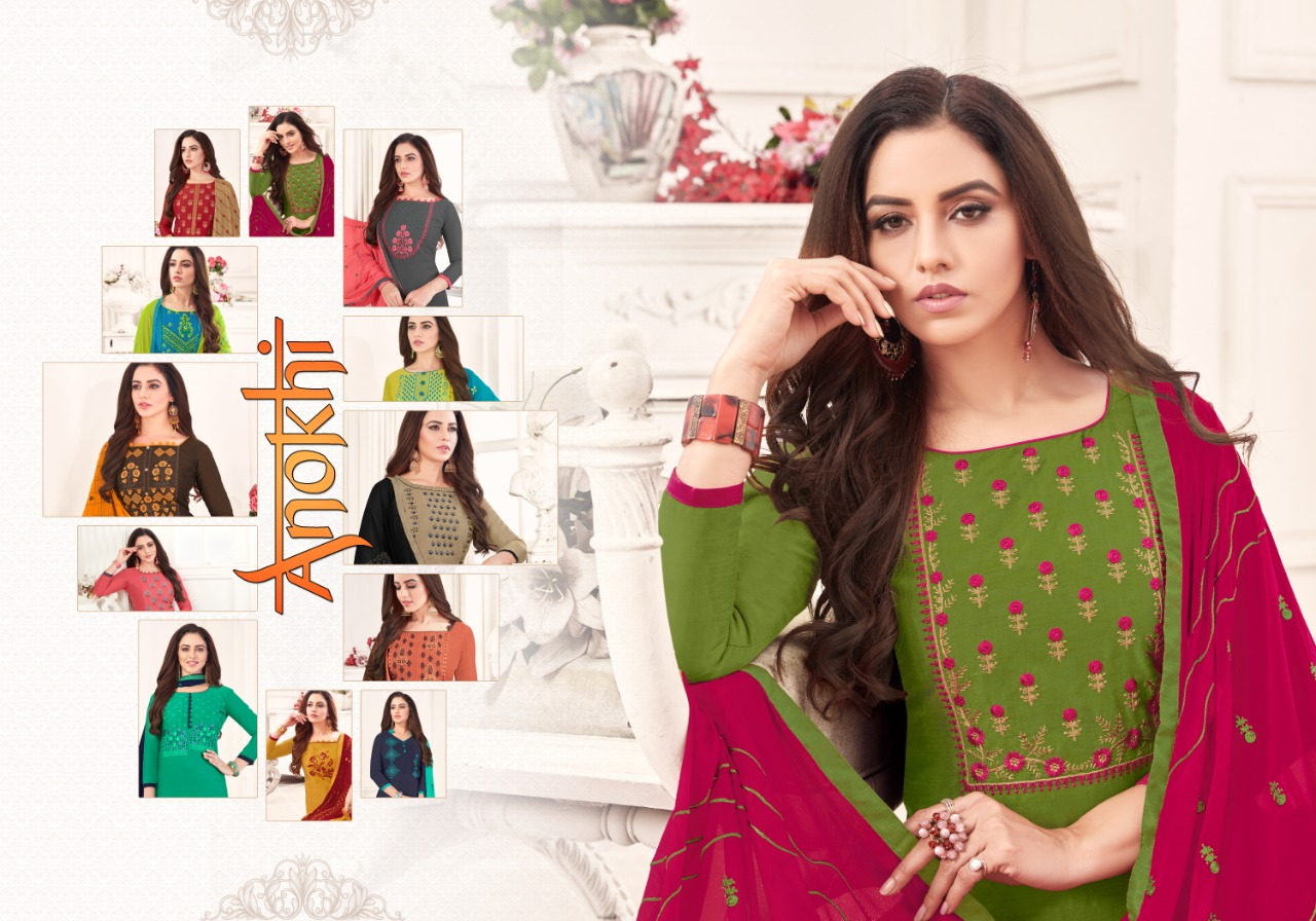 Fashion Floor Anokhi Salwar Suit Wholesale Catalog 12 Pcs 1 - Fashion Floor Anokhi Salwar Suit Wholesale Catalog 12 Pcs