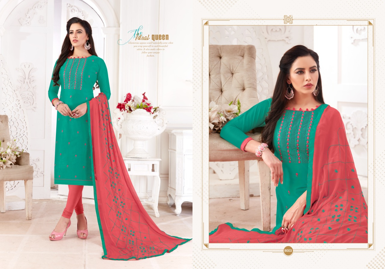 Fashion Floor Saffron Salwar Suit Wholesale Catalog 12 Pcs 10 - Fashion Floor Saffron Salwar Suit Wholesale Catalog 12 Pcs