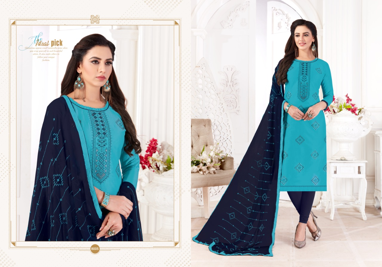 Fashion Floor Saffron Salwar Suit Wholesale Catalog 12 Pcs 11 - Fashion Floor Saffron Salwar Suit Wholesale Catalog 12 Pcs