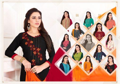 Fashion Floor Saffron Salwar Suit Wholesale Catalog 12 Pcs 12 510x357 - Fashion Floor Saffron Salwar Suit Wholesale Catalog 12 Pcs