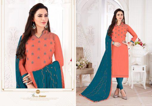 Fashion Floor Saffron Salwar Suit Wholesale Catalog 12 Pcs 13 510x357 - Fashion Floor Saffron Salwar Suit Wholesale Catalog 12 Pcs