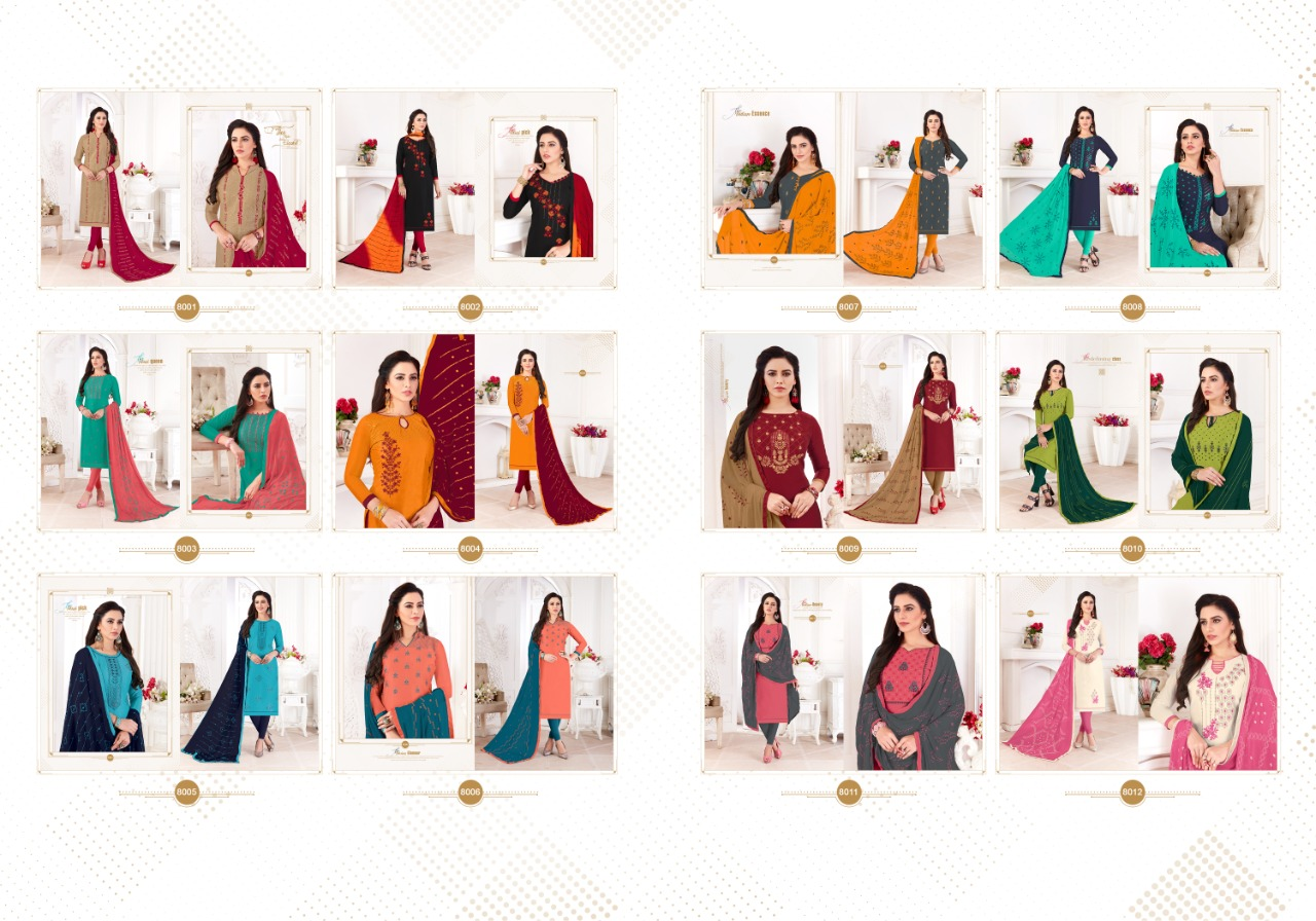 Fashion Floor Saffron Salwar Suit Wholesale Catalog 12 Pcs 15 - Fashion Floor Saffron Salwar Suit Wholesale Catalog 12 Pcs