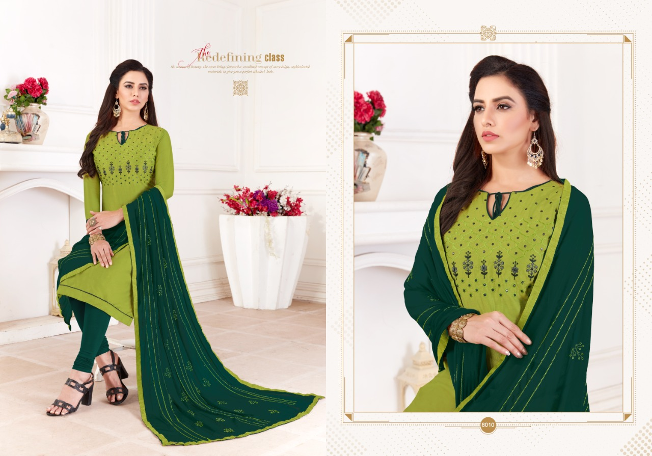 Fashion Floor Saffron Salwar Suit Wholesale Catalog 12 Pcs 2 - Fashion Floor Saffron Salwar Suit Wholesale Catalog 12 Pcs