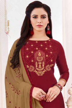 Fashion Floor Saffron Salwar Suit Wholesale Catalog 12 Pcs