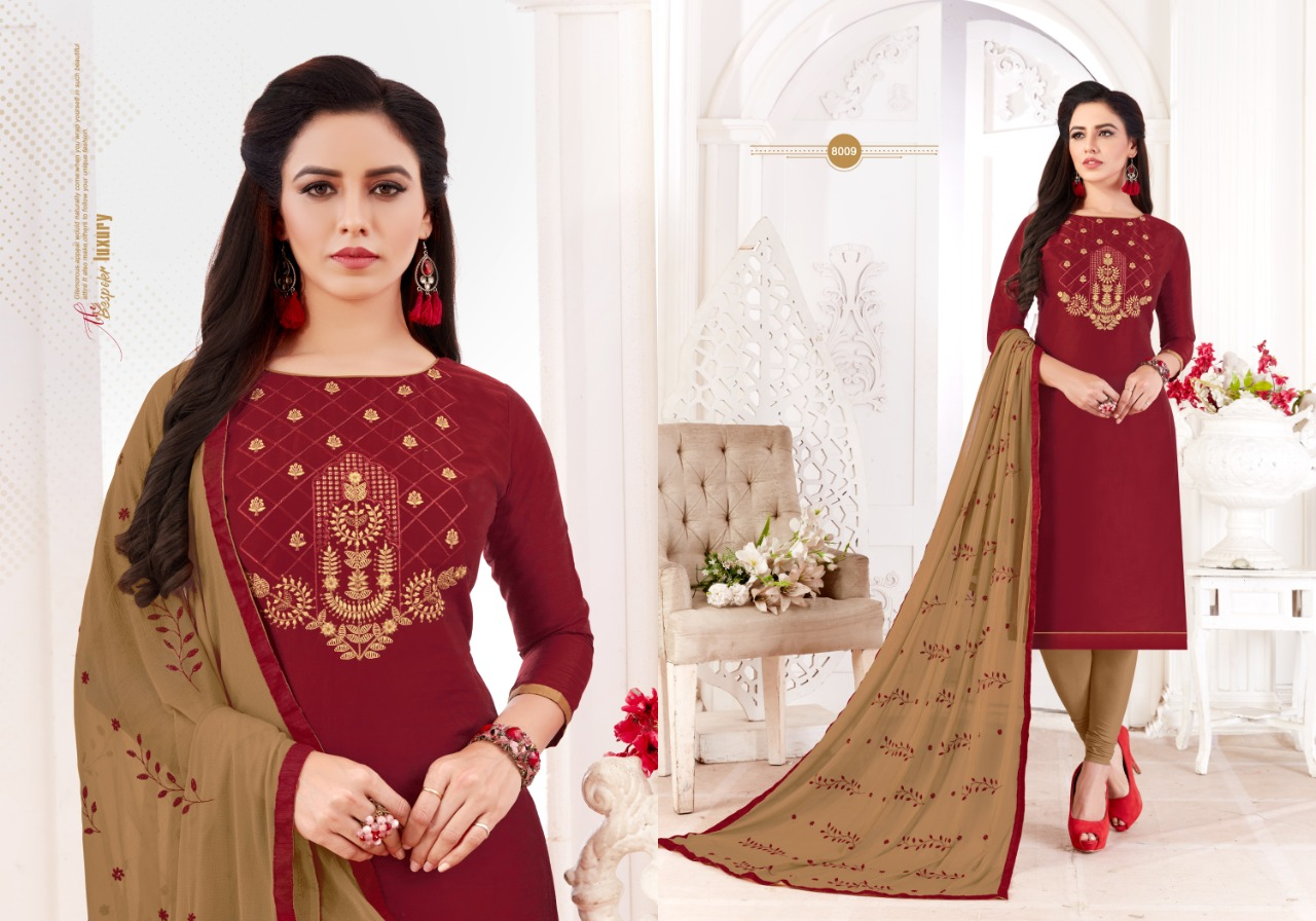 Fashion Floor Saffron Salwar Suit Wholesale Catalog 12 Pcs 3 - Fashion Floor Saffron Salwar Suit Wholesale Catalog 12 Pcs