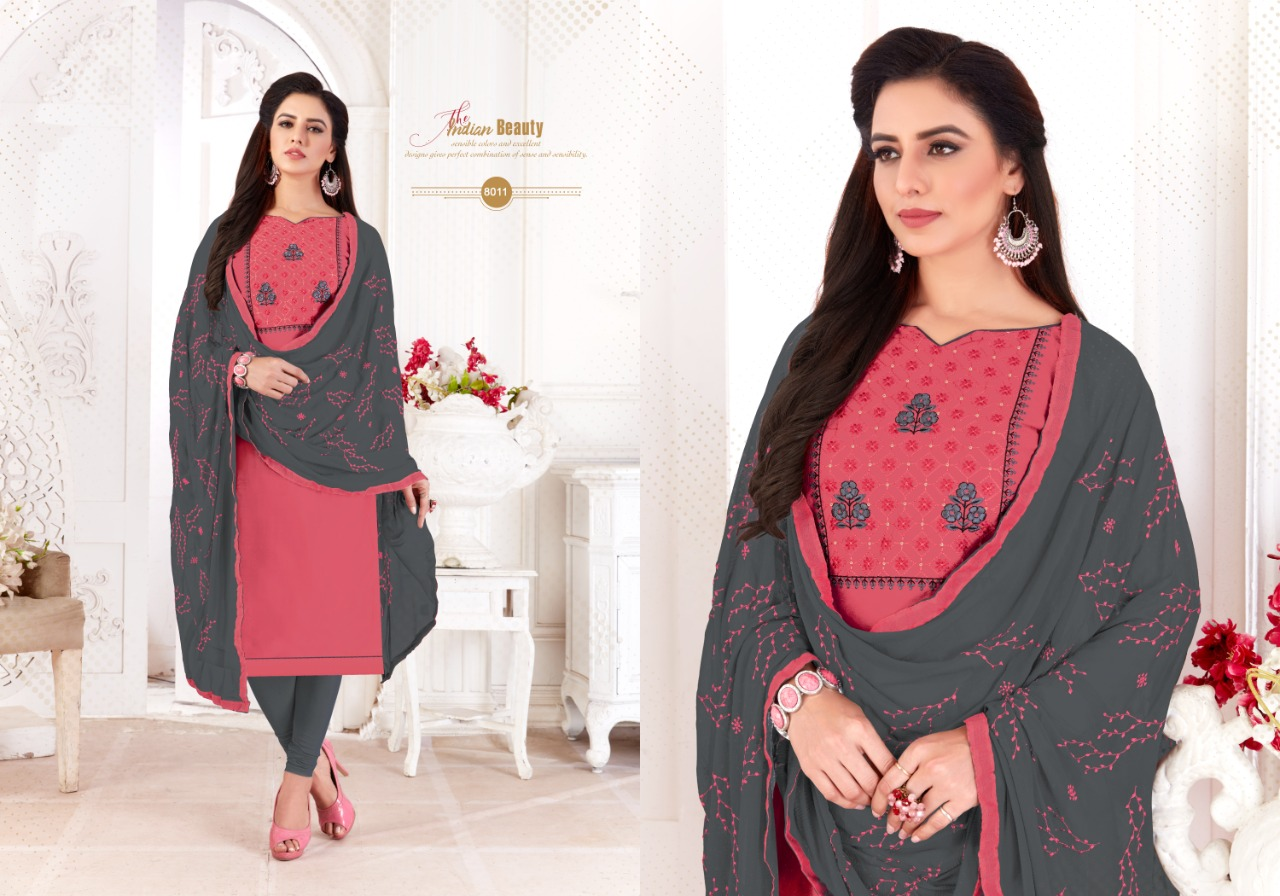 Fashion Floor Saffron Salwar Suit Wholesale Catalog 12 Pcs 4 - Fashion Floor Saffron Salwar Suit Wholesale Catalog 12 Pcs