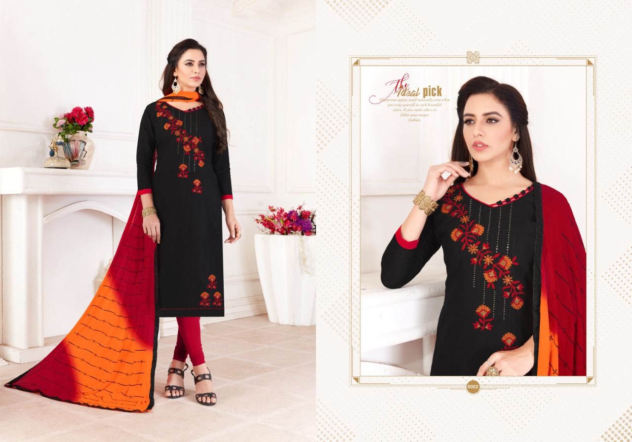 Fashion Floor Saffron Salwar Suit Wholesale Catalog 12 Pcs 9 - Fashion Floor Saffron Salwar Suit Wholesale Catalog 12 Pcs