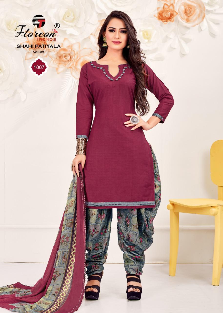 Floreon Trends Shahi Patiyala Vol 3 Salwar Suit Wholesale Catalog 8 Pcs 14 - Floreon Trends Shahi Patiyala Vol 3 Salwar Suit Wholesale Catalog 8 Pcs